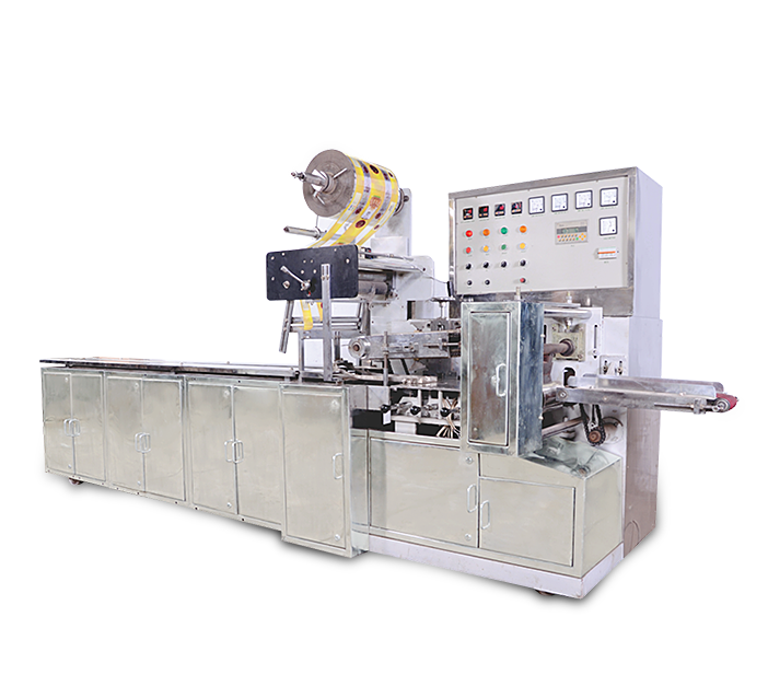 Horizontal Flow Wrape Pillopack Packaging Machine