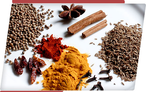 Powder and Spices