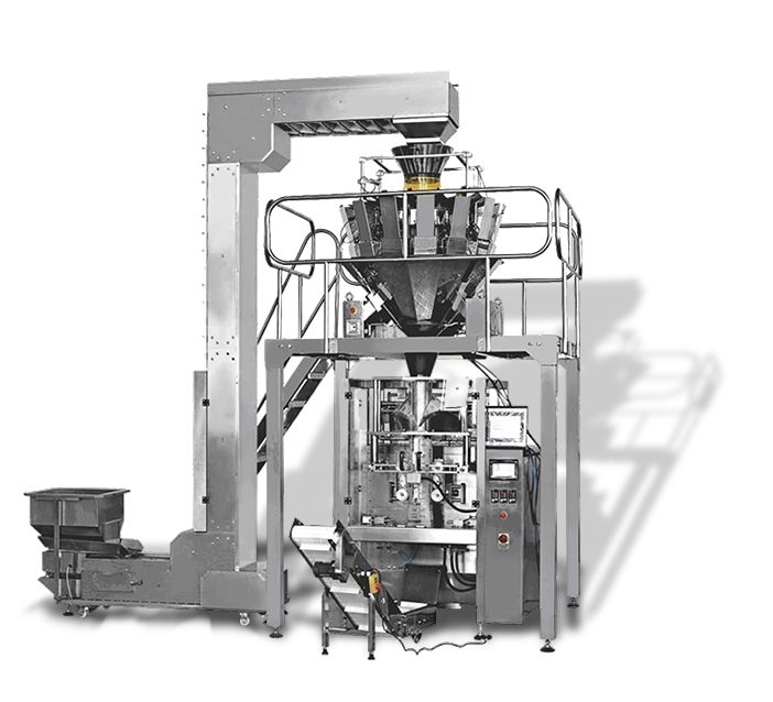 Fully Automatic Multi-head Weighing, Packaging Machine